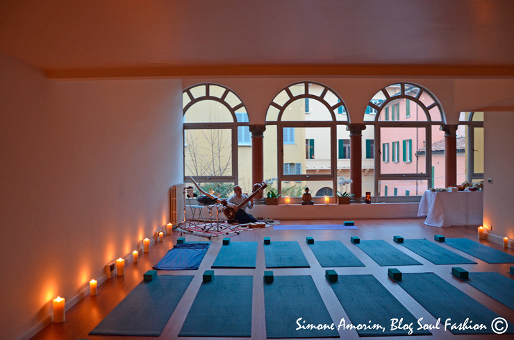 The beautiful Vinyasa Yoga Bologna