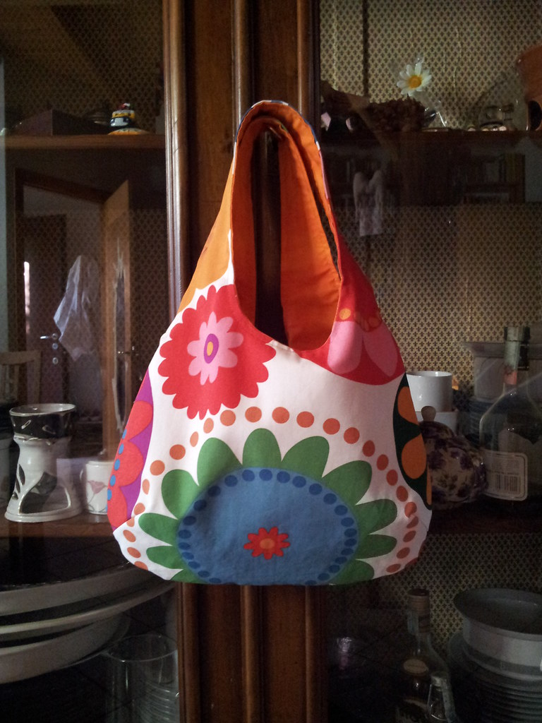 Reversible bag reversible bag with ikea fabric thank - Ikea stoffe a metraggio ...