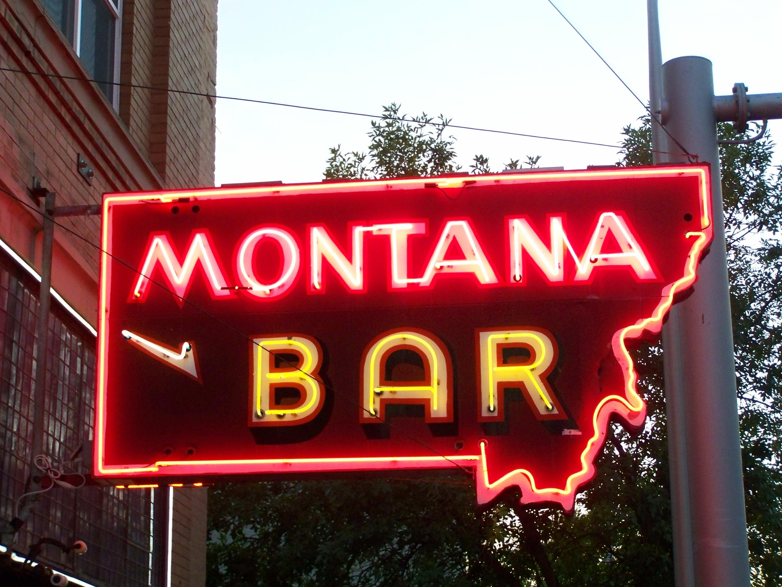 Montana Bar - 612 Main Street, Miles City, Montana U.S.A. - September 19, 2012