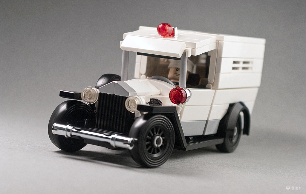 Lego Old Police Cars