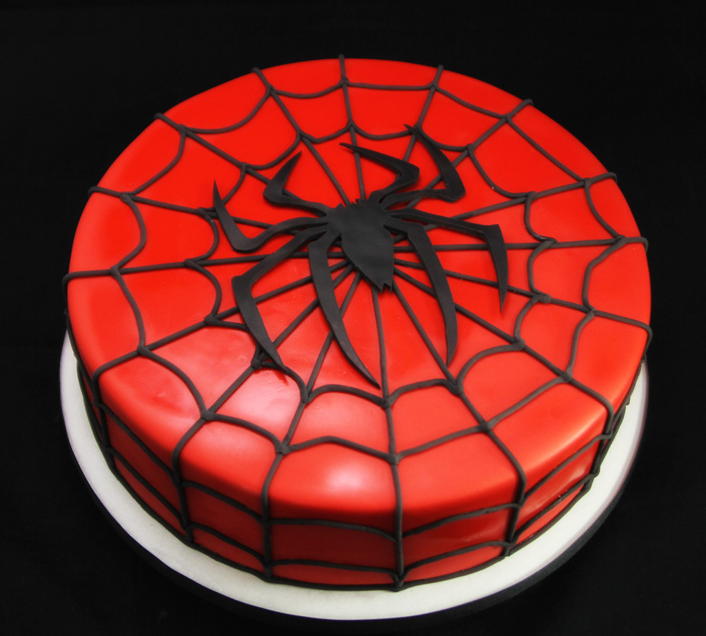 Spiderman Cake Butterfly Bakeshop Flickr