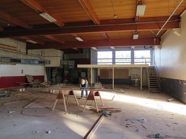 Fitness Center Construction : Photo