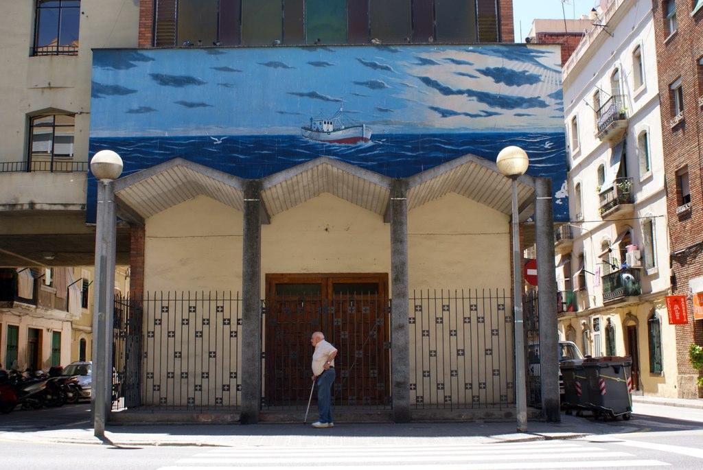 Eglise du film Biutiful d'Inarritù à Barceloneta, Barcelone.