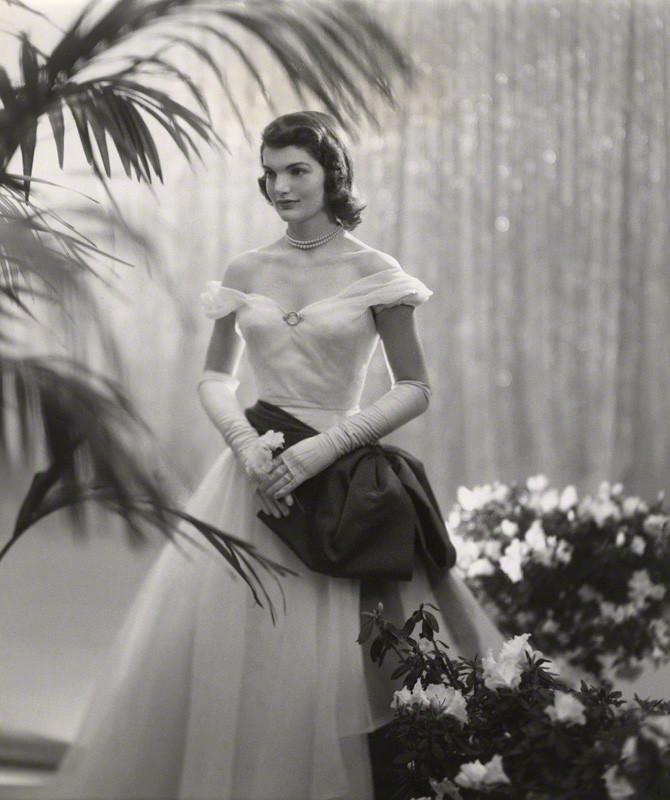 NPG x40308; Jacqueline Lee Bouvier Kennedy Onassis