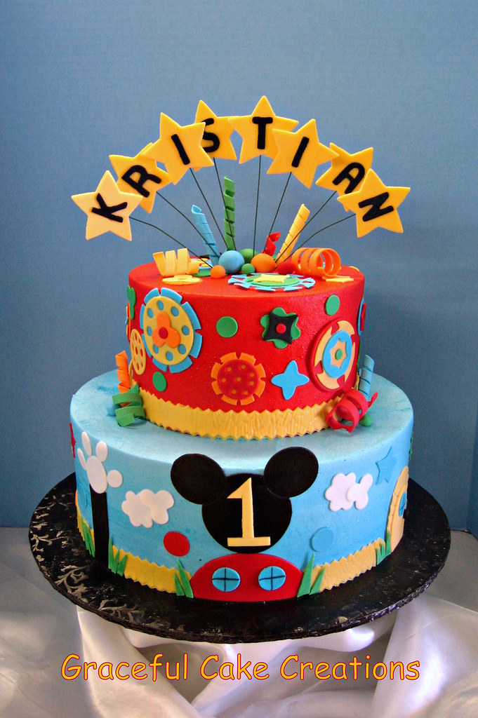 Mickey Mouse Club House Birthday Cake Grace Tari Flickr