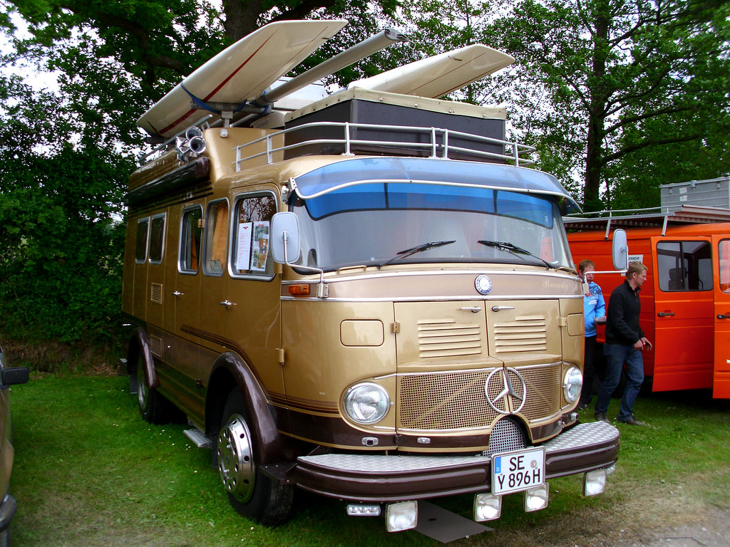 Mercedes benz 313 camper 1967 bockhorn 2013 ex for Mercedes benz campervan usa