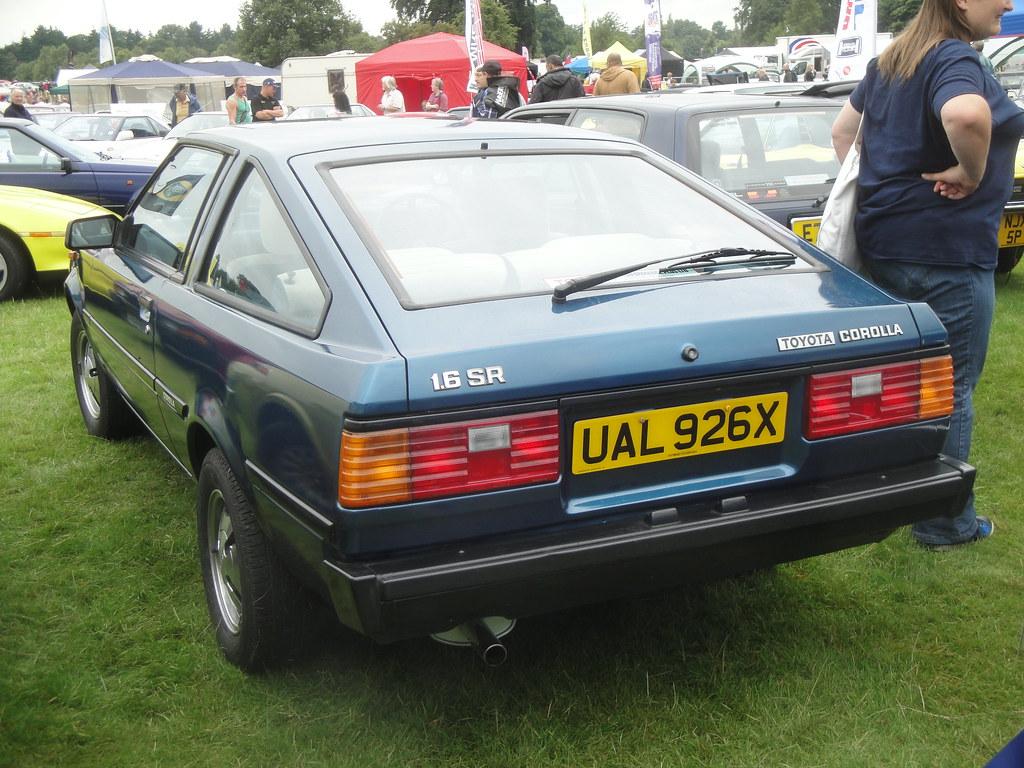 1982 Toyota Corolla 1 6 Sr Alan Gold Flickr