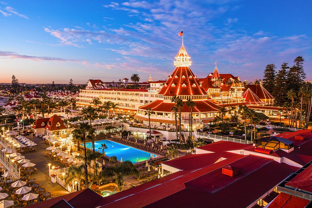 Beach Hotel San Diego Luxury