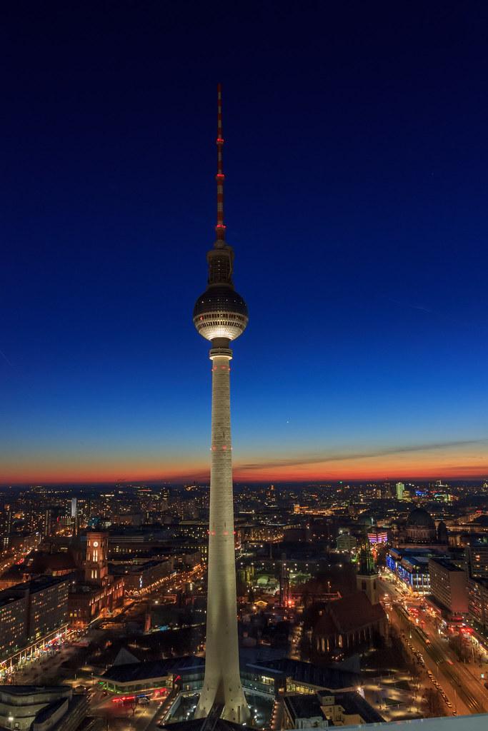 Berlin at night / Berl...