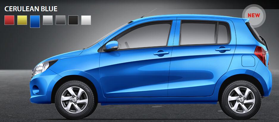 Cerulean Blue Car Paint