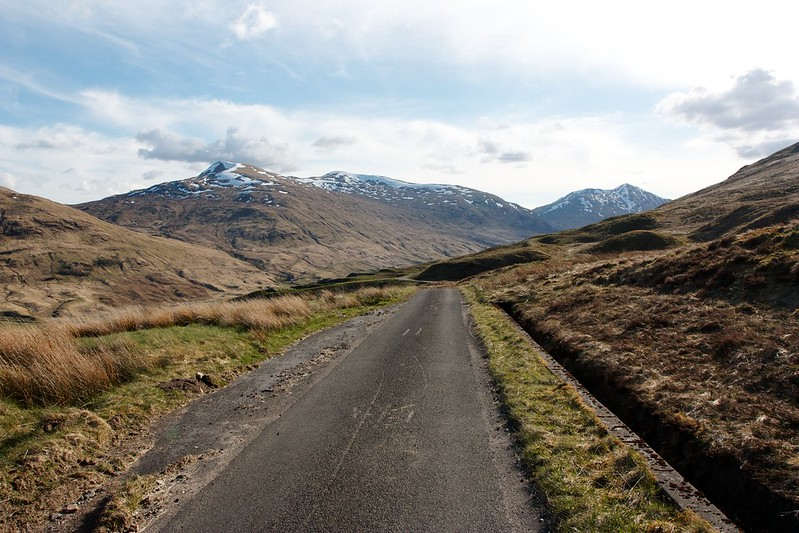 Road to Glen Lochay
