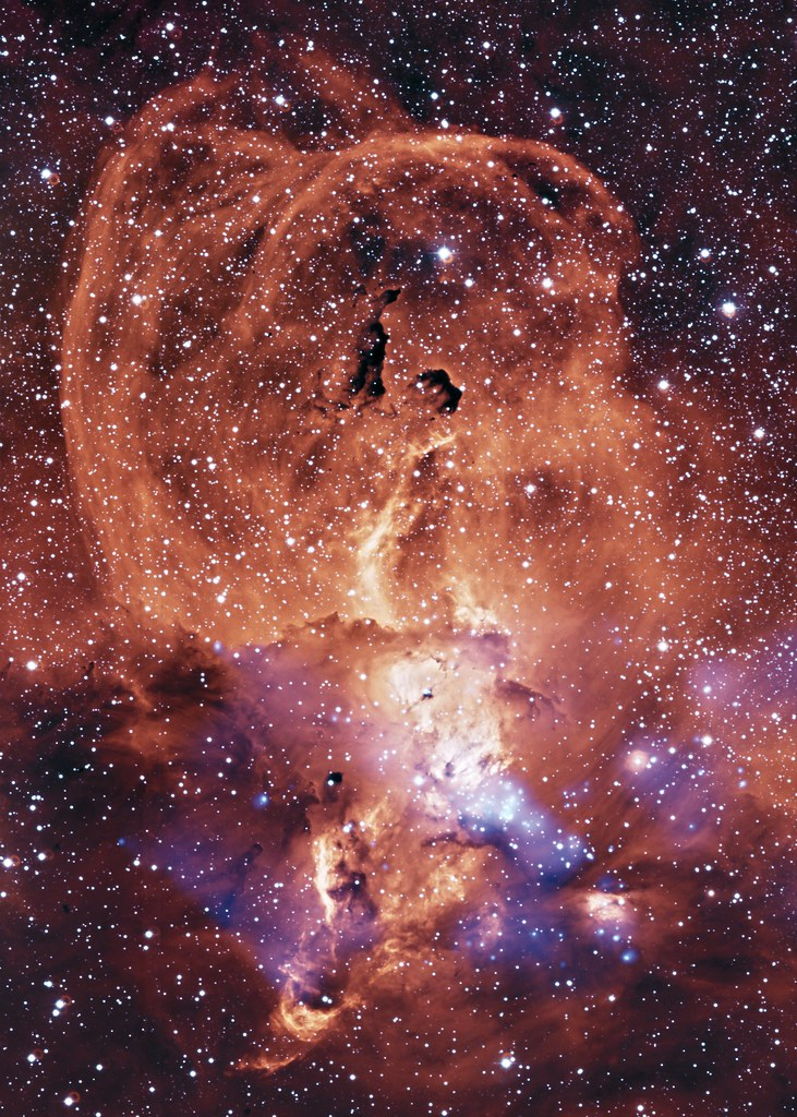 Ngc 3576 Glowing Gas In The Milky Way Nasa Chandra 10 Flickr