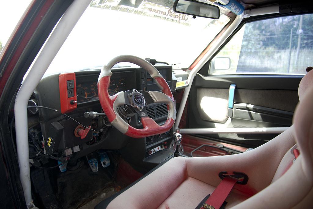 Alfa Romeo 75 Racing Car 3 Litre V6 Interior Seen In