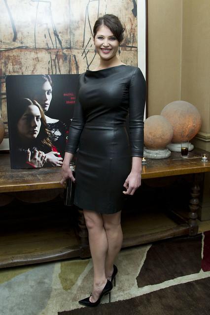 Gemma Arterton Leather Dress 3 Flickr Photo Sharing