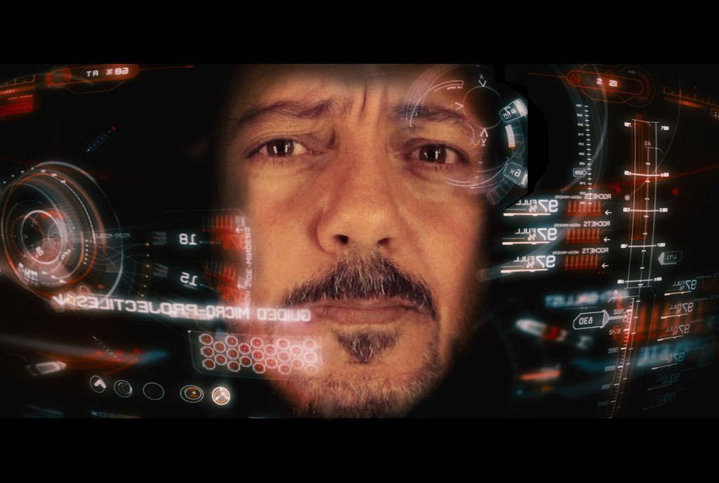 Iron Man HUD Sherif Salama Flickr