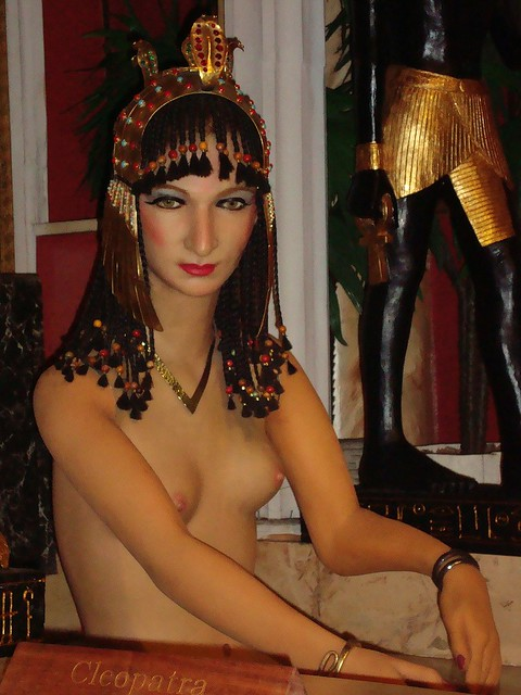 Cleopatra, Royal London Wax Museum / Victoria, B.C, Canada… | Flickr ...: https://www.flickr.com/photos/unclegal/10522958256