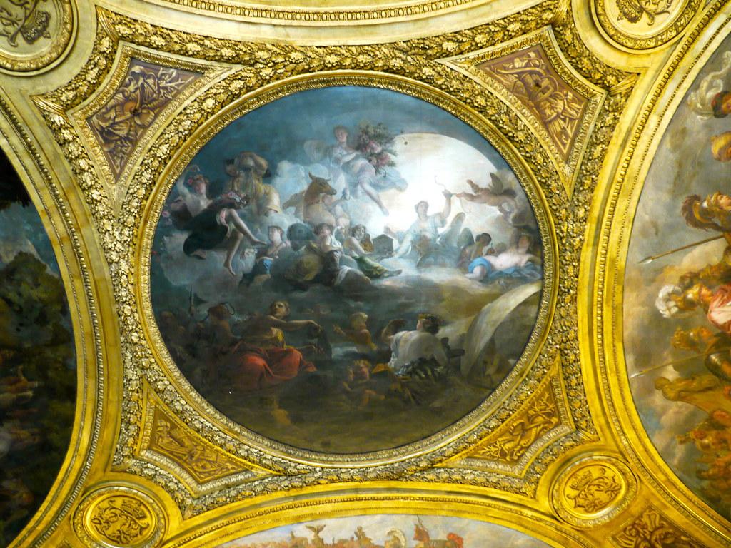 Versailles yvelines le salon de diane au 1er tage du ch flickr for Peinture tendance salon versailles