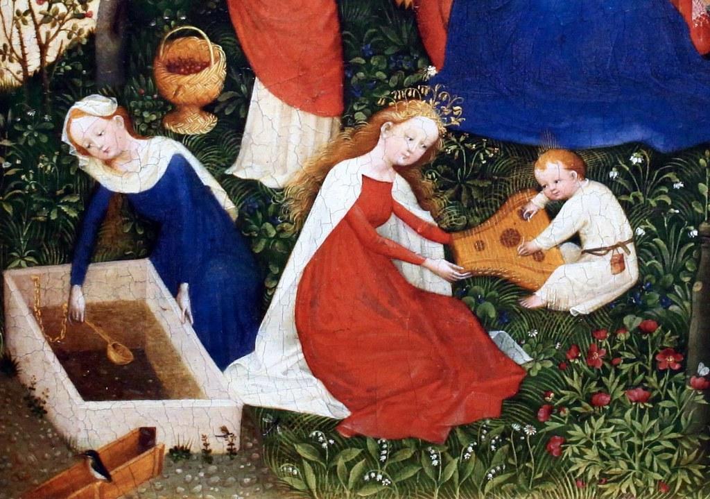 Img 5764 1 maitre du haut rhin actif vers 1410 1420 le p for Vers du jardin