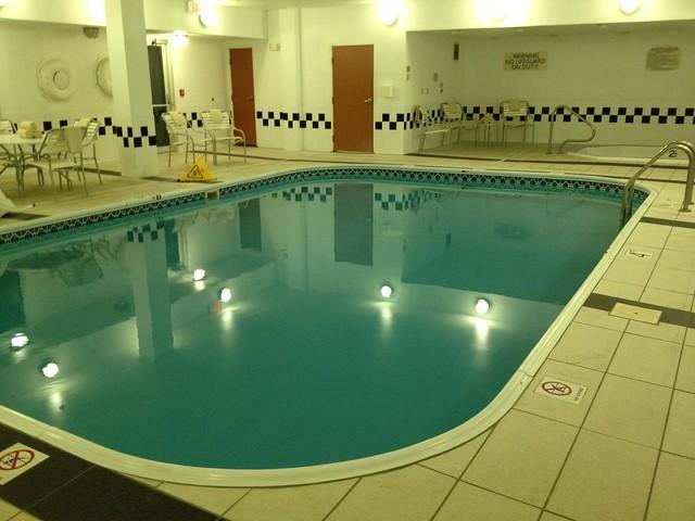 The pool at fairfield inn flickr photo sharing for Garden grove pool fairfield