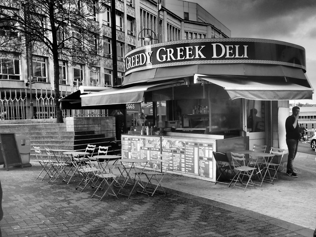 This Is Moment >> The Greedy Greek Deli, Castle Square, Sheffield. | Right nex… | Flickr