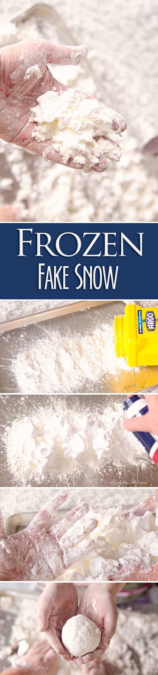 make fake snow, it's a fun sensory activity and keeps kids occupied
