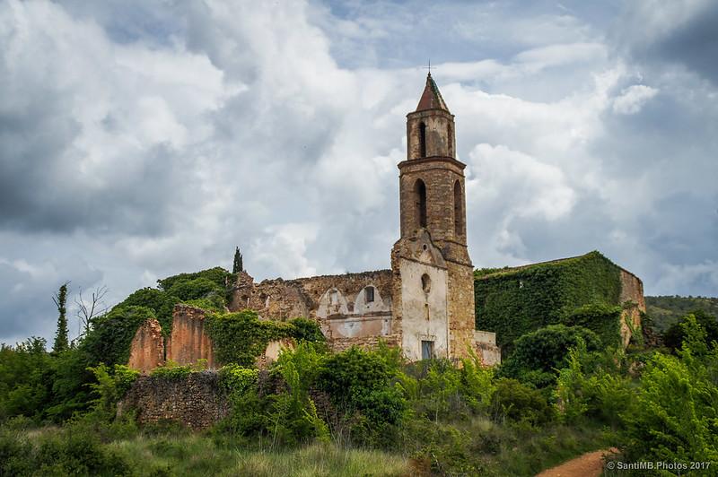 La iglesia de Sant Miquel de Marmellar
