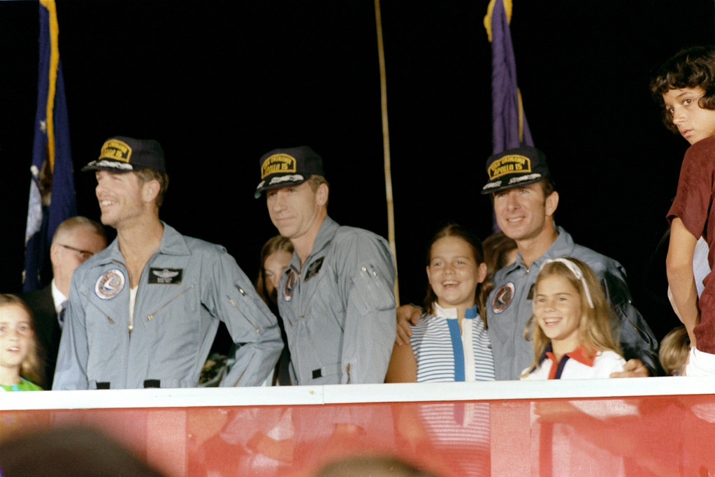 Apollo 15 Crew and Family Members | The three Apollo 15 ...