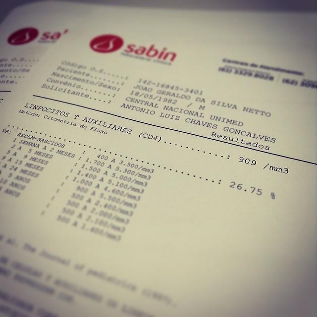 Exames de sangue tsh