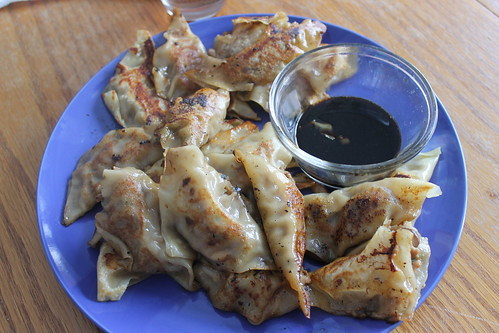 Pork and Mushroom Pot Stickers