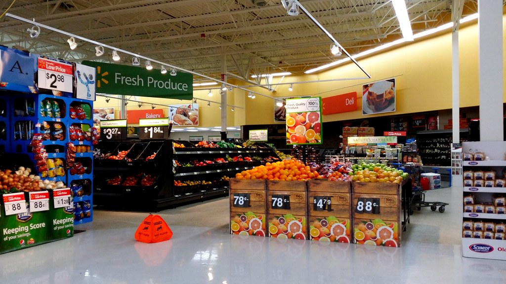 Walmart Supercenter in Ellicott City | Produce department ...
