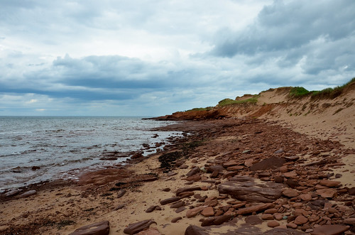 Red Rocks of Cavendish Beach