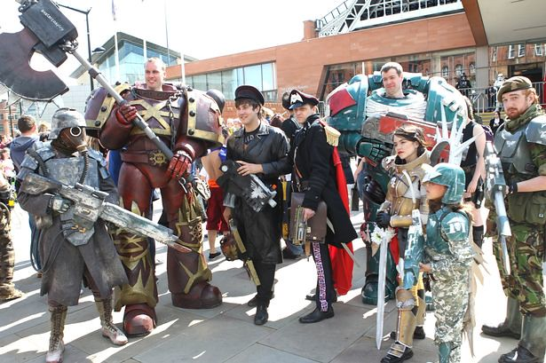 Manchester MCM Comic-Con 2015 - Warhammer 40K Cosplay