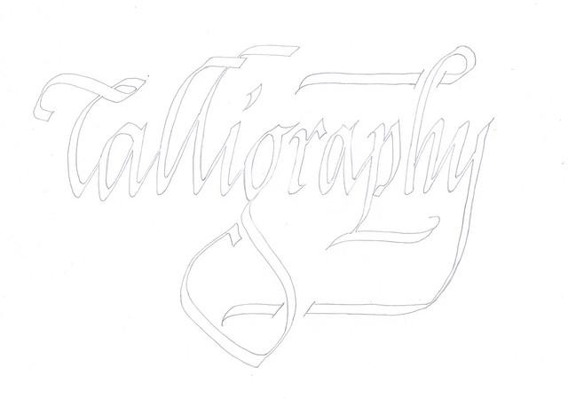 Calligraphy Double Pencil Italic 2 Explore Billgrant43 39 S