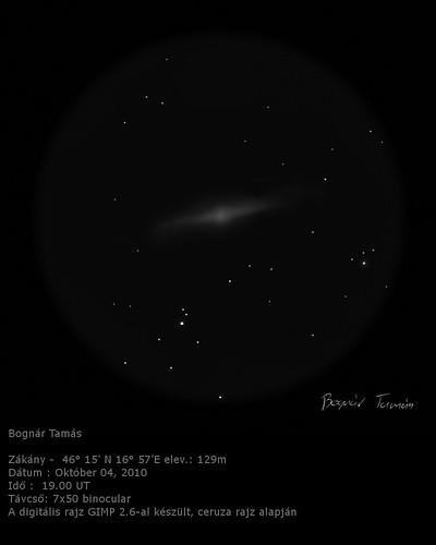 VCSE - Messier 31 - 7x50 binokulár