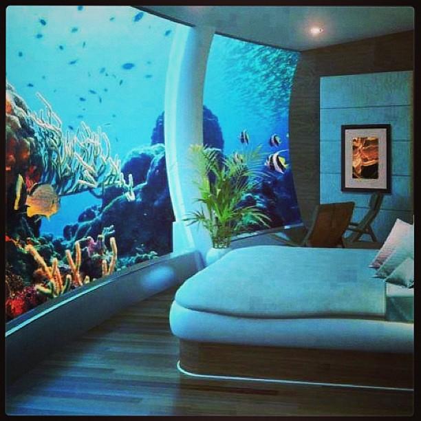 underwater bedroom at poseidon undersea resort my dream bedroom