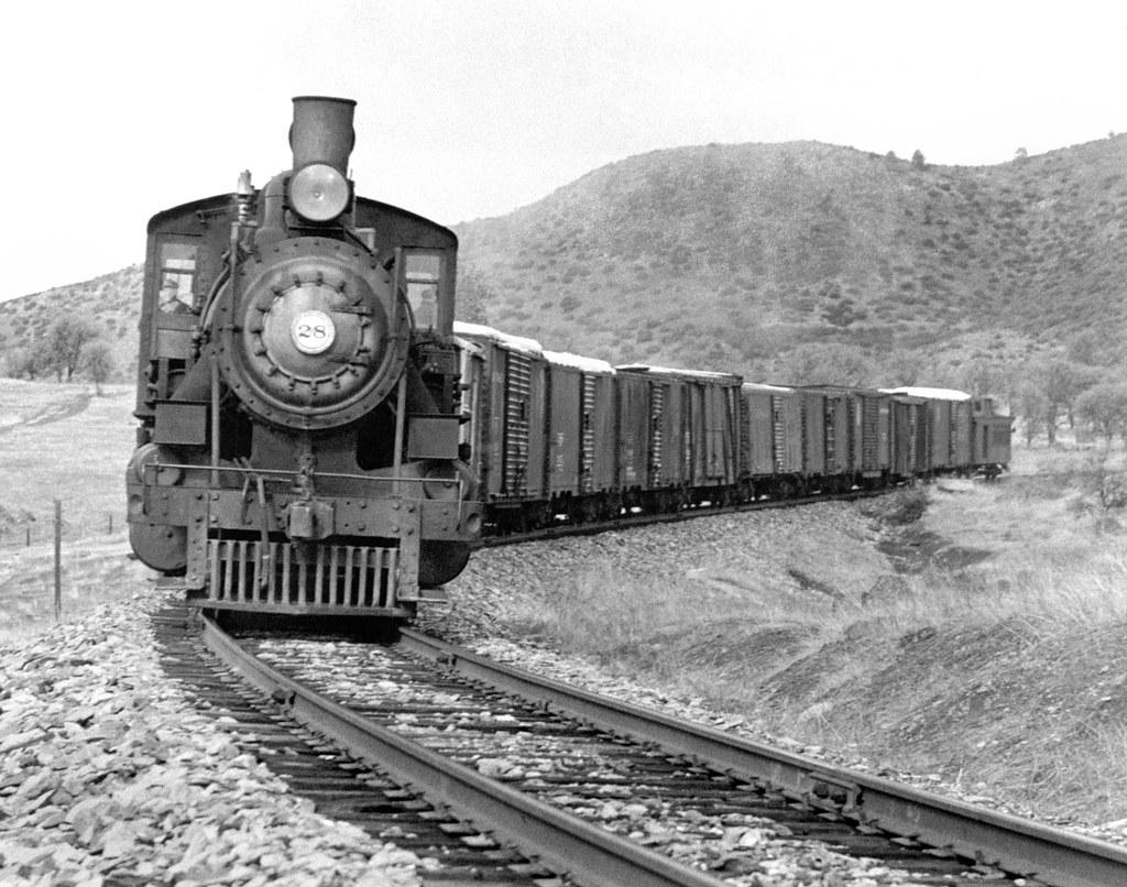 Sierra Railway Baldwin 2 8 0 Consolidation Steam Locomotiv