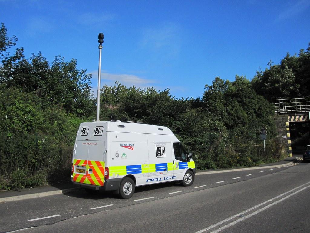 british transport police safety camera van