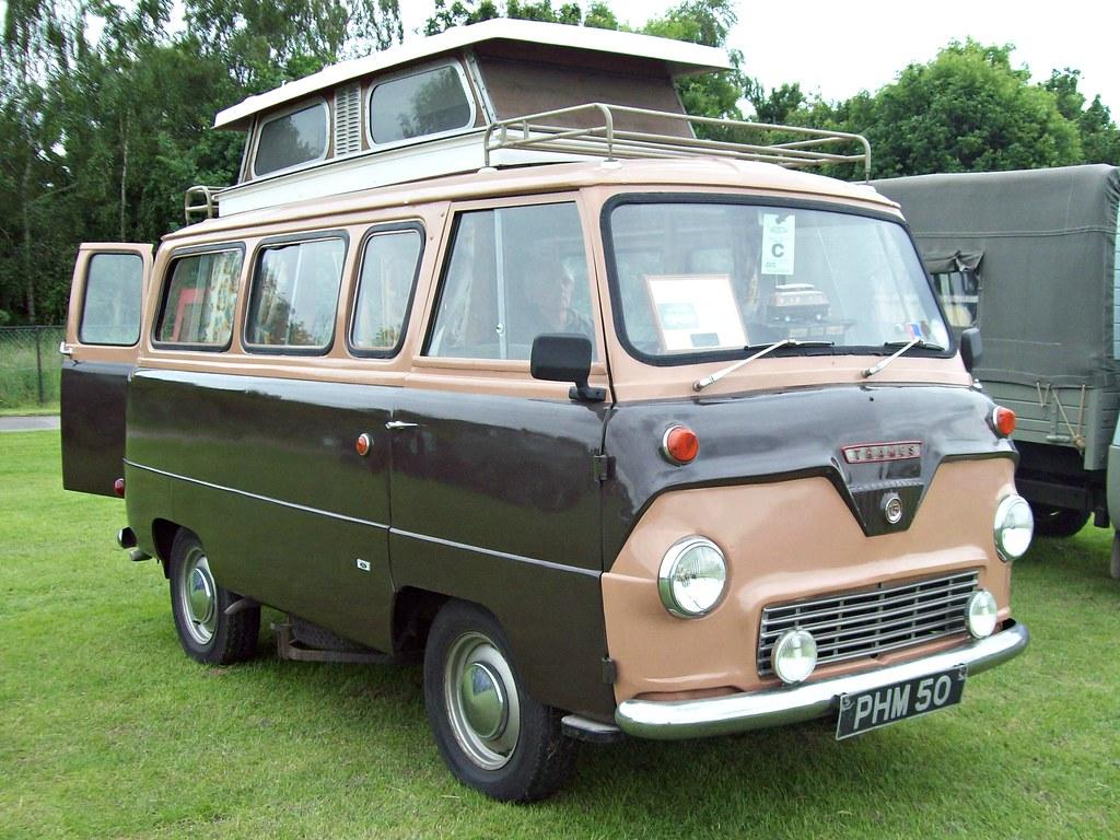 126 Ford Thames 400e 15cwt Camper Van 1957 65 Ford