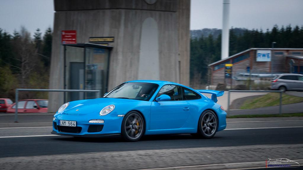 A One Of A Kind Baby Blue Porsche 997 Gt3 Also Follow