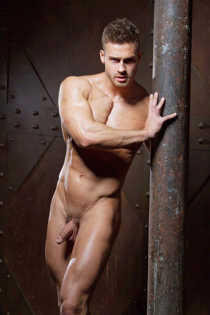 Russian model men nude