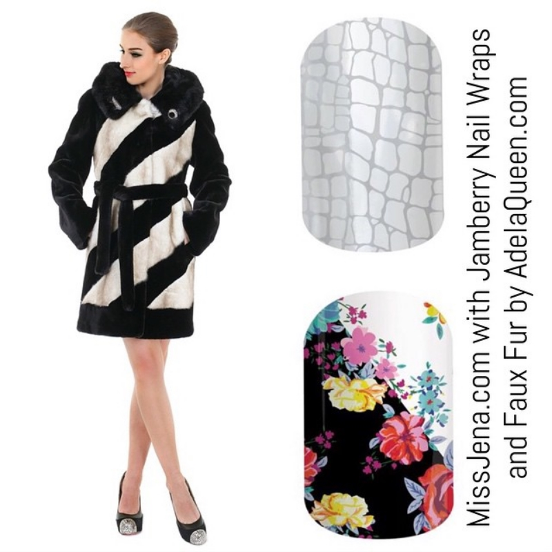 Adela Queen and Jamberry Nail Designs