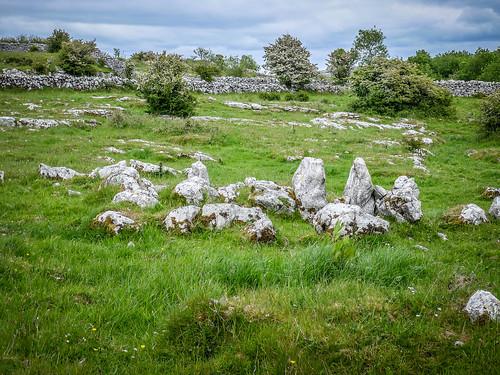 Stone Ring at Temple Cronan
