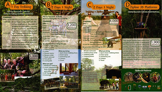 Brochure Thai Jungle Zipline and Trekking Chiang Mai Thailand 04