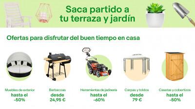 Ofertas en terrazas muebles de exterior y jard n en ebay for Ofertas terrazas easy