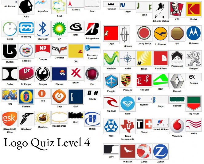Logo Quiz Answer Level 1 2 3 4 5 6 7 8 9 iOS and AndroidWa ...