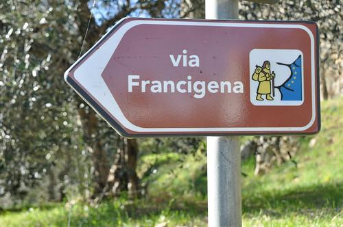 Il turista della Via Francigena