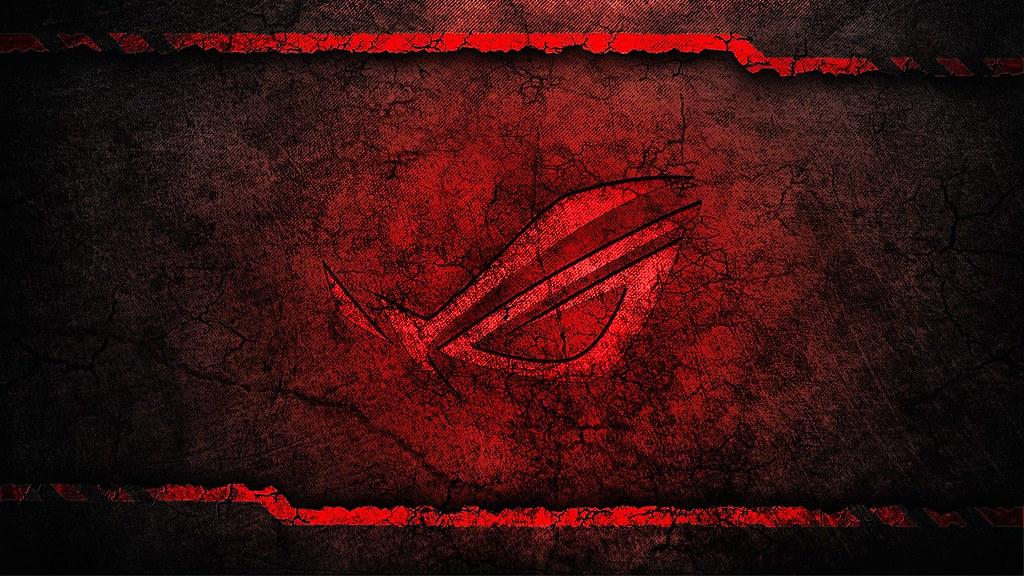 Asus rog republic of gamers logo hd wallpaper grunge red b - White grunge background 1920x1080 ...