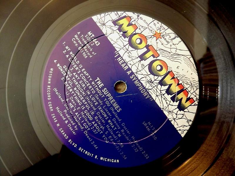 Motown Record Vinyl