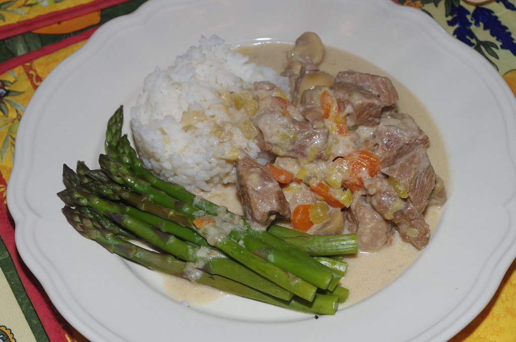 Blanquette de veau the recipe is on my blog here la belle dame sans souci flickr - Blanquette de veau sans alcool ...