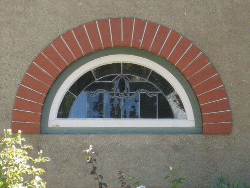 Window Detail of an Arts and Crafts Style Villa - Ballarat